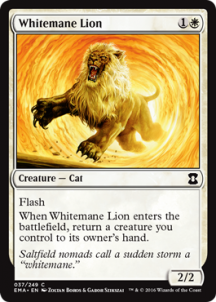Whitemane Lion Foil