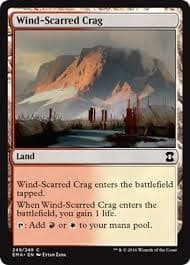 Wind-Scarred Crag Foil