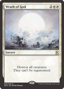Wrath of God Foil