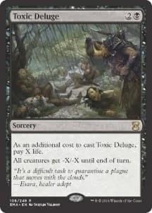Toxic Deluge Foil