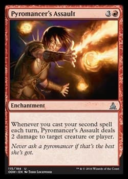 Атака Пироманта (Pyromancer's Assault)FOIL