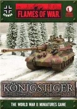 Königstiger (non-zimmerit) with FJ Tank Riders