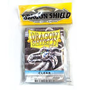 """ПРОТЕКТОРЫ МИНИ""""DRAGON SHIELD"""" (РАЗНОЦВЕТНЫЕ, 50 ШТ.): ПРОЗРАЧНЫЕ АТ-10101"""