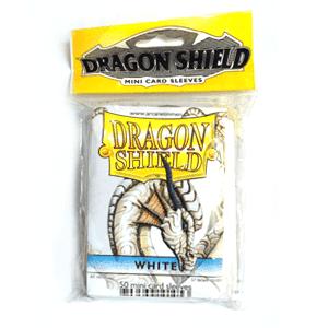 """Протекторы Мини """"Dragon Shield"""" (разноцветные, 50 шт.): белые АТ-10105"""