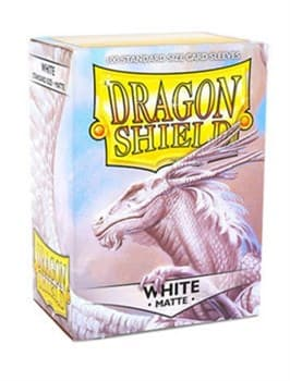 Dragon Shield - Протекторы матовые белые 100 штук