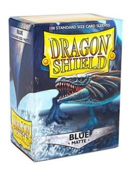 Dragon Shield - Протекторы матовые синие 100 штук