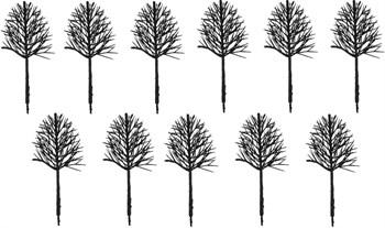Каркас Дерева Овальный 80 Мм (11 Штук) Пластик