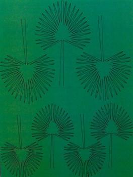 Лист Веерной Пальмы L