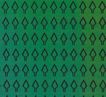 Лист ромбовидный L (273 штуки 2,5*4,2 мм) ЗЕЛЕНЫЙ