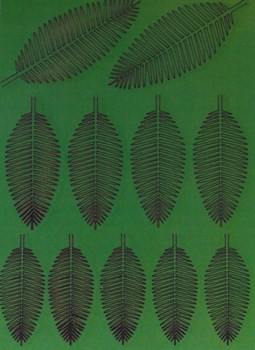 Лист кокосовой пальмы L