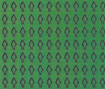 Лист ромбовидный M (408 штук 2*3,5 мм) ЗЕЛЕНЫЙ