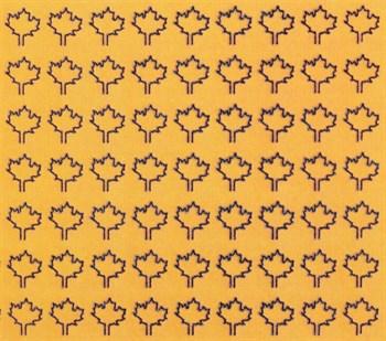 Лист Клена L (182 Штуки, 4,5*5,5 Мм) Желтый