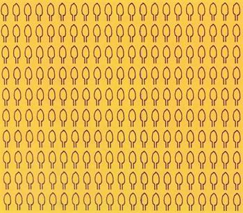 Лист овальный M (420 штук 1,8*3,1 мм) ОСЕНЬ