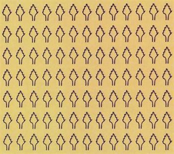 Лист Ромбовидный L (273 Штуки 2,5*4,2 Мм) Сухой