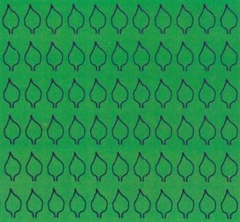 Лист сердцевидный L (220 штук 3,4*6,2 мм) ЗЕЛЕНЫЙ