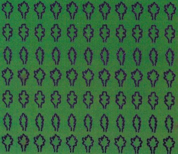 Лист Дуба M (330 Штук, 2,3*3,6 Мм) Зеленый