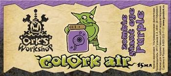 Краска для аэрографии Colork Air zombie giant eye Purple 15мл