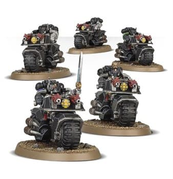 Deathwatch Bikers