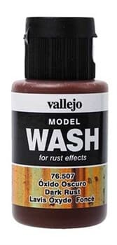 Dark Rust Wash 35 ml.