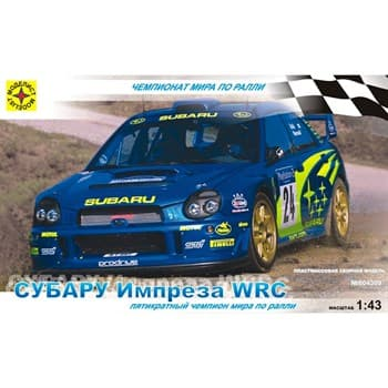 АВТОМОБИЛЬ СУБАРУ ИМПРЕЗА WRC (1:43)