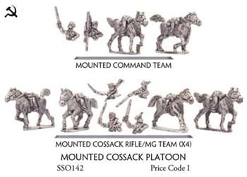 Mounted Cossack Platoon