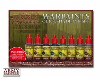 Warpaints Quickshade Ink Set II (5)