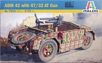 БРОНЕАВТОМОБИЛЬ ABM 42 WITH 47/32 AT GUN