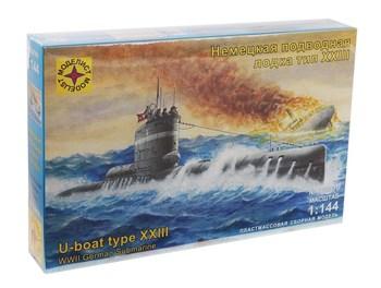 Немецкая  подводная  лодка  тип  XXIII (1:144)