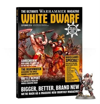 "Журнал ""Белый Дварф Сентябрь 2016 (англ.)(White Dwarf Weekly Sep 2016)"""
