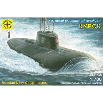 """Атомный подводный крейсер """"Курск"""" (1:700)"""