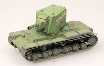 Танк  Kv-2 Heavy Tank  Early Russian Green  (1:72)