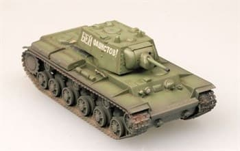 Танк  KV-1 Heavy tank  1941 Green color   (1:72)