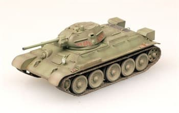 Танк  T-34/76 Tank Model 1942 Moscow Field  (1:72)
