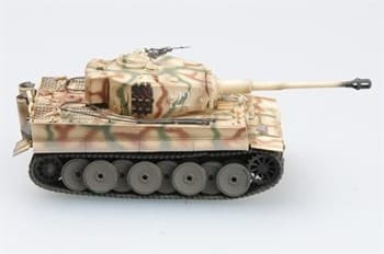 Танк  Tiger 1 Middle Type Spzabt.509, Russia 1943  (1:72)