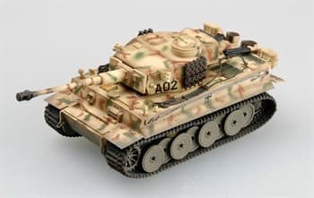 Танк  TIGER 1 Early type Grossdeutschland Div. Russia1943  (1:72)