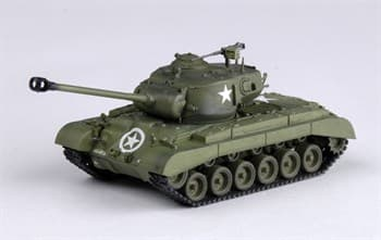 "Танк  M26 ""PERSHING""  8th Armored Div.  (1:72)"