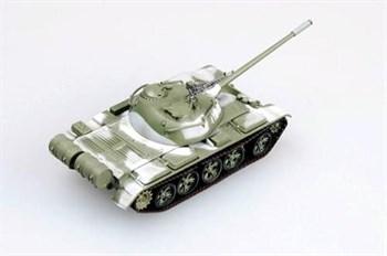 Танк Т-54 в зимнем камуфляже (1:72)