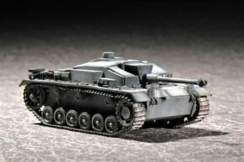 """САУ """"Штурмгешютц"""" III Ausf.F (1:72)"""