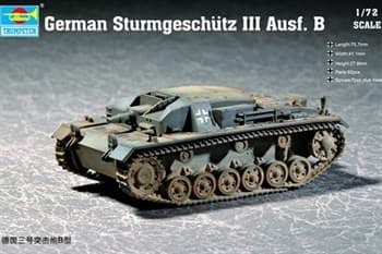 """САУ """"Штурмгешютц"""" III Ausf.B (1:72)"""