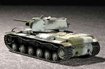 Танк  КВ-1 1941г. (1:72)