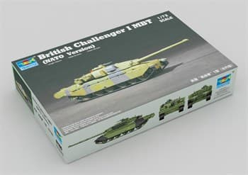 Танк  Challenger I NATO ver. (1:72)