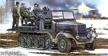 Тягач  Sd.Kfz.6/2 с Flak 37 (1:35)