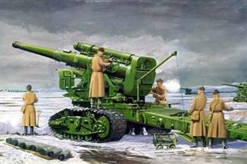 203мм гаубица Б-4 мод.1931г. (1:35)