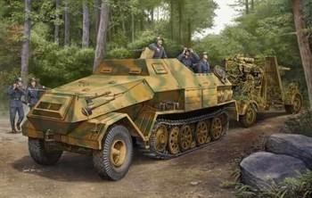 БТР  Sd.Kfz. 8 DB10 бронированный 12t (1:35)