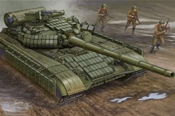 Танк T-64АВ мод. 1984 (1:35)