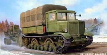 Тягач  Russian Voroshilovets Tractor  (1:35)