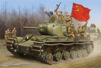 Танк  КВ-1С (1:35)