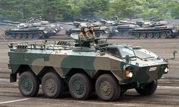 Японский  БТР Тип 96 WAPC (1:35)