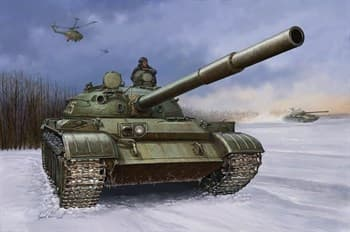 Танк  Советский T-62 мод.1960 (1:35)