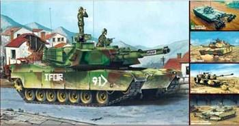 "Танк  М1А1/А2 ""Абрамс"" (5 в 1) (1:35)"